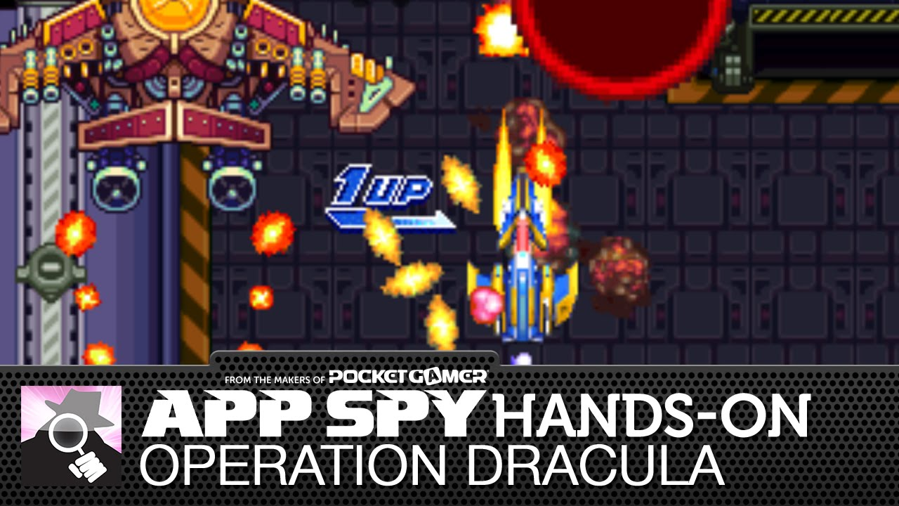 Indie arcade shooter Operation Dracula channels Dodonpachi and Raiden - and we've got the first look