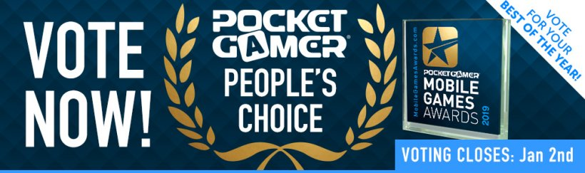 Vote for YOUR Game of the Year in the Pocket Gamer People's Choice award