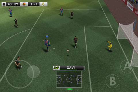 Konami's PES 2012 - Pro Evolution Soccer for iOS is a freemium game, out now