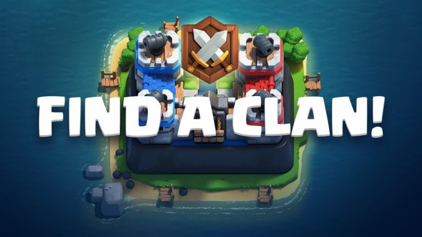 Need a Clan for Clan Wars? Clash Royale's got the perfect solution for you