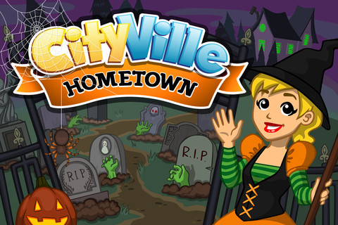 Zynga's freemium CityVille hometown gets new decorations, quests, and more in Halloween update
