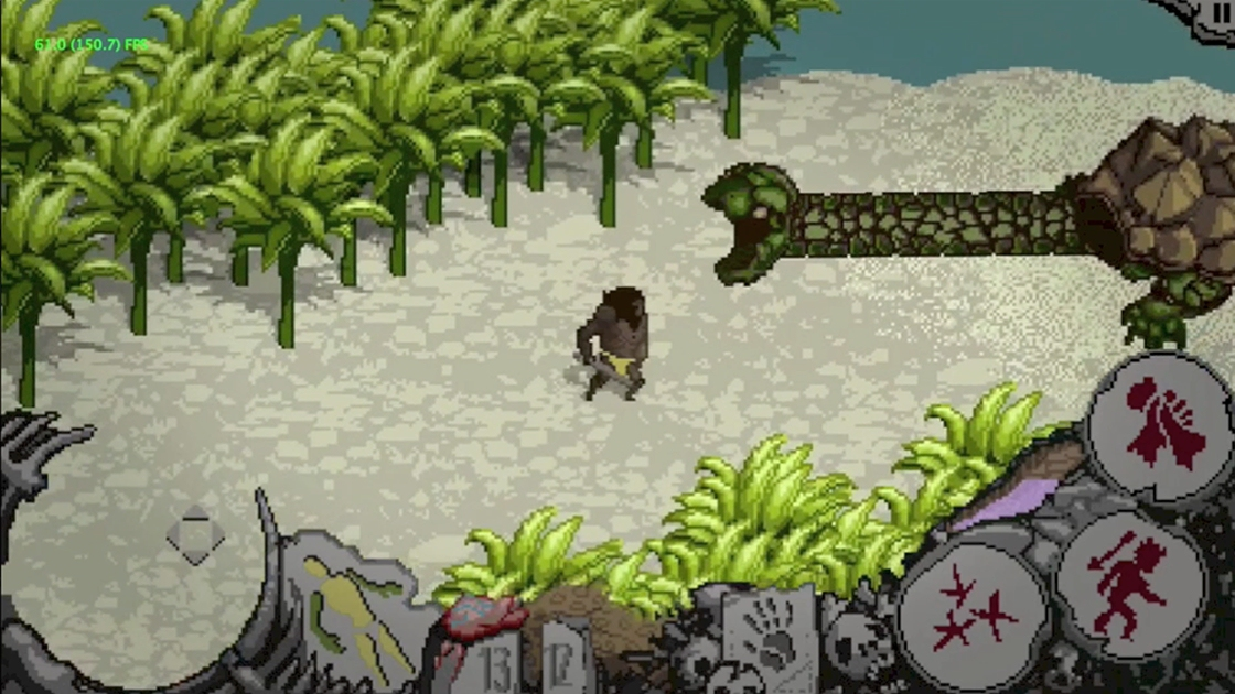 Brutal Stone Age action-RPG Isle of Bxnes is now available on Android