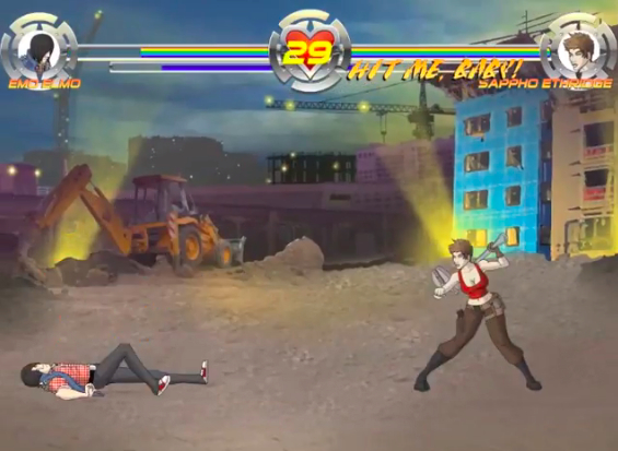 Fight and be fabulous in the upcoming Ultimate Gay Fighter for iOS and Android