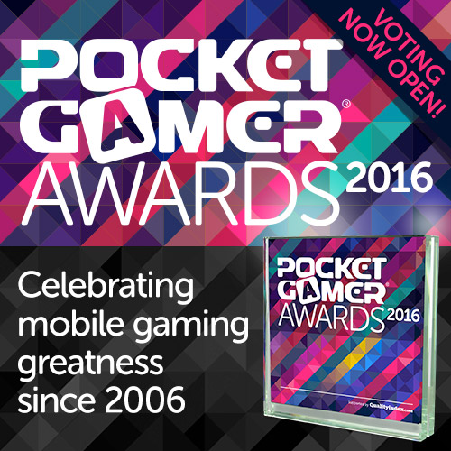 Final hours of voting for the Pocket Gamer Awards 2016