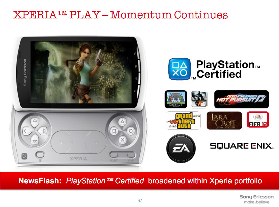 Grand Theft Auto franchise coming to Xperia Play