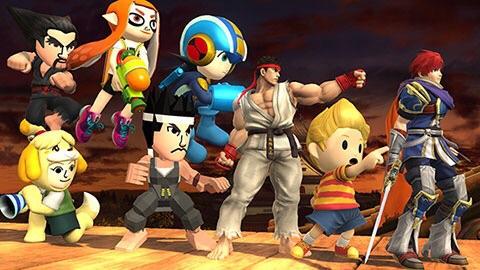 Super Smash Bros DLC - Ryu, Roy, and Lucas impressions