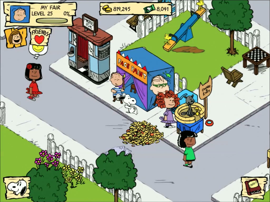 Snoopy's Street Fair hints, tips, and tricks