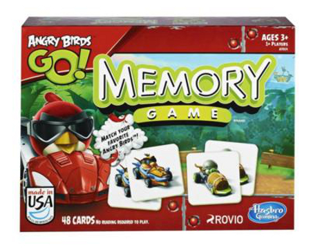Angry Birds Go! Memory Game - toy guide