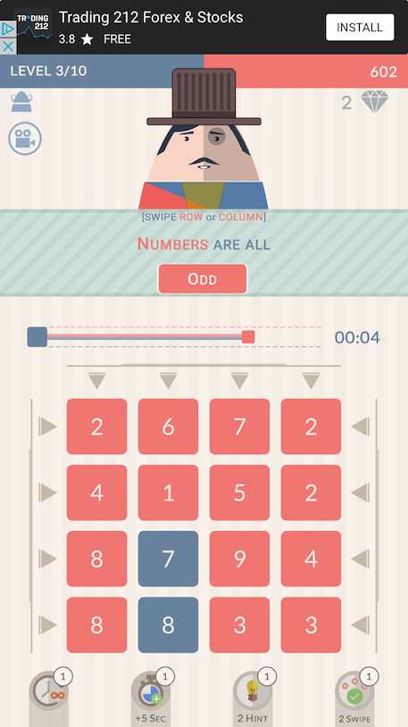 Mr. Mustachio 2 review - A number puzzler that you can count on?