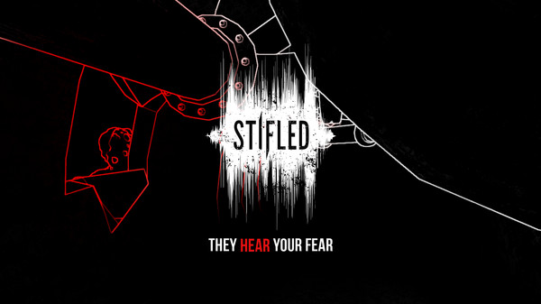 Stifled is an upcoming VR horror game in which you can only see through sound