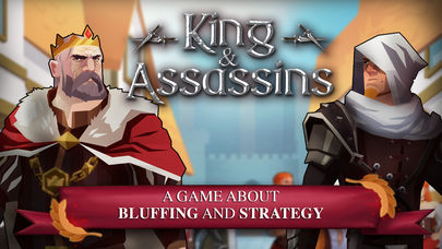 Will you fight for the king or try to bring him down in Kings and Assassins from Asmodee Digital?