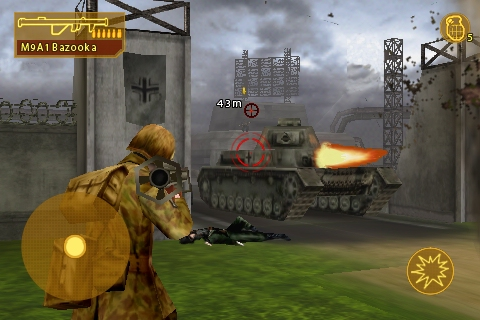 Brothers in Arms for iPhone goes live on App Store