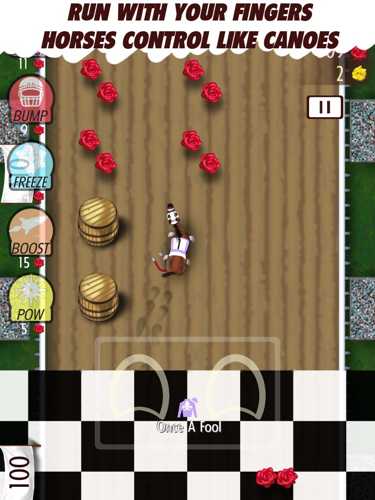 Manic party game Finger Derpy has you control a horse - two hooves at a time