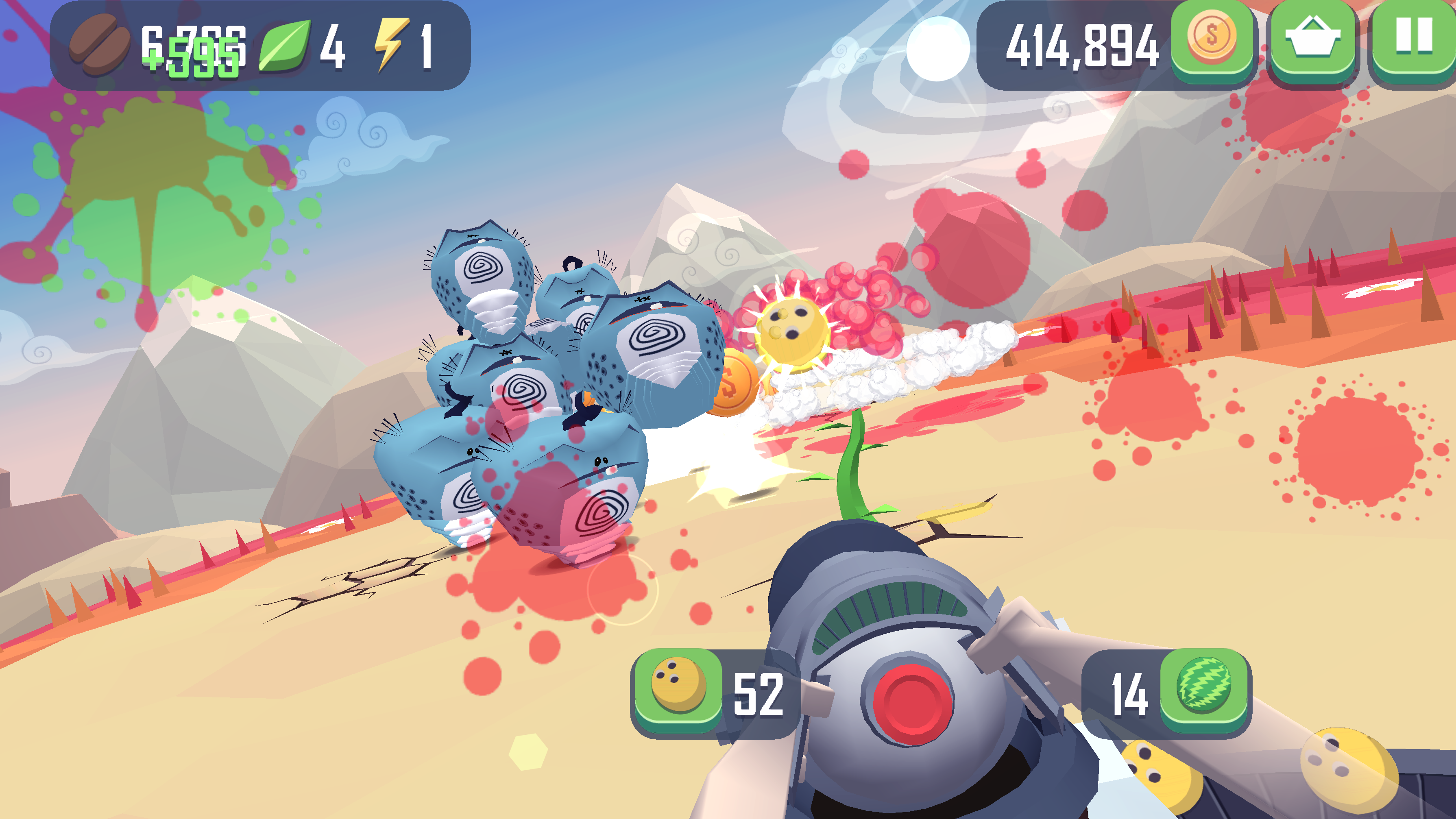 Take on hordes of cute aliens in colorful shooter Smash Anarchy