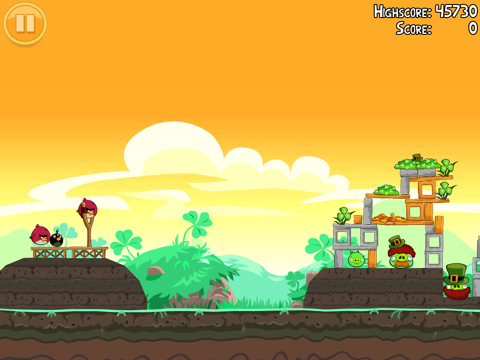 Angry Birds Seasons: Go Green, Get Lucky 3-star video walkthroughs