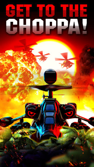 Out at midnight: Heli Hell is an explosive F2P shoot-'em-up you can play with just one finger