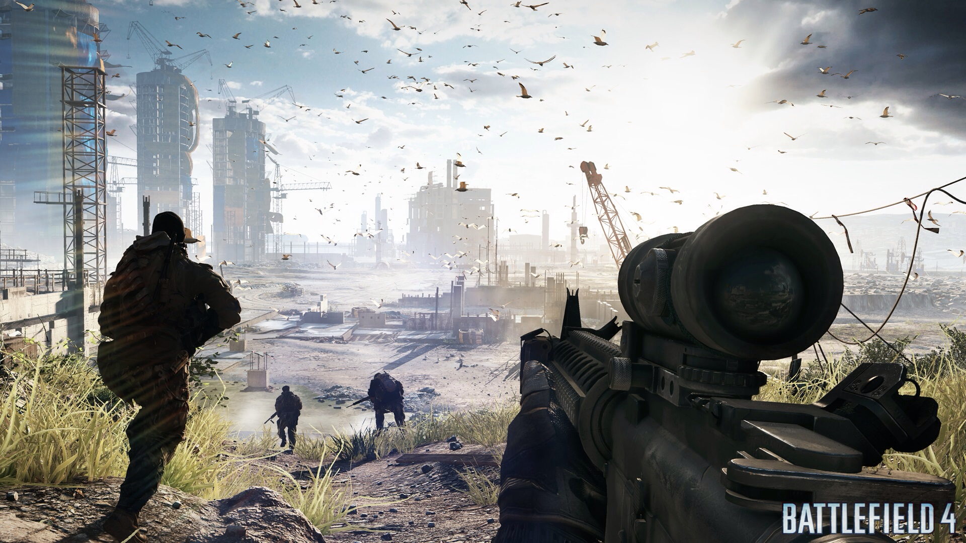 Sony confirms you'll be able to play Battlefield 4 on your Vita via Remote Play at launch