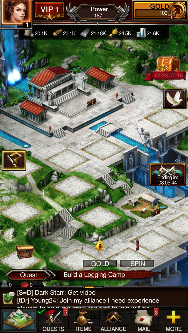 Game of War - Fire Age Android,iPhone,iPad, screenshot 3