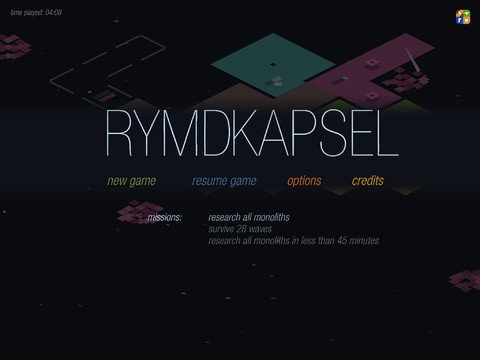 [Update] Out now: Plan your defences with the iOS version of minimalist RTS Rymdkapsel
