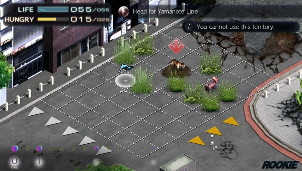 Tokyo Jungle Mobile Android,PS Vita,Xperia Play, screenshot 2