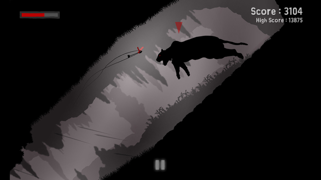 REDDEN has you steering bullets and arrows to kill their targets, out on iOS and Android