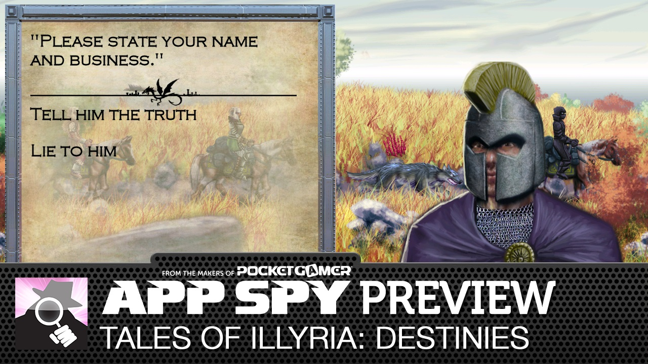 Video preview: Tales of Illyria: Destinies is the third entry in the Android-exclusive RPG series