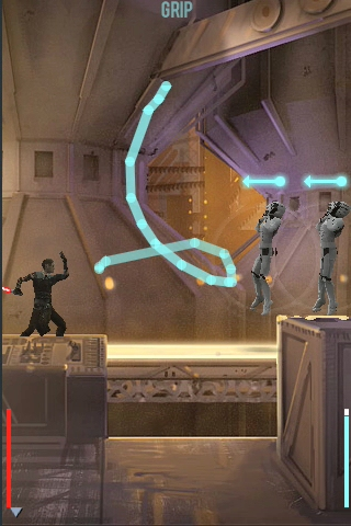 Star Wars: The Force Unleashed at an App Store far, far away