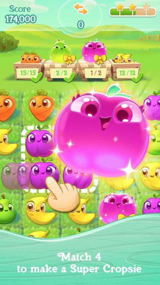 Farm Heroes Super Saga - it's like Farm Heroes Saga...but super