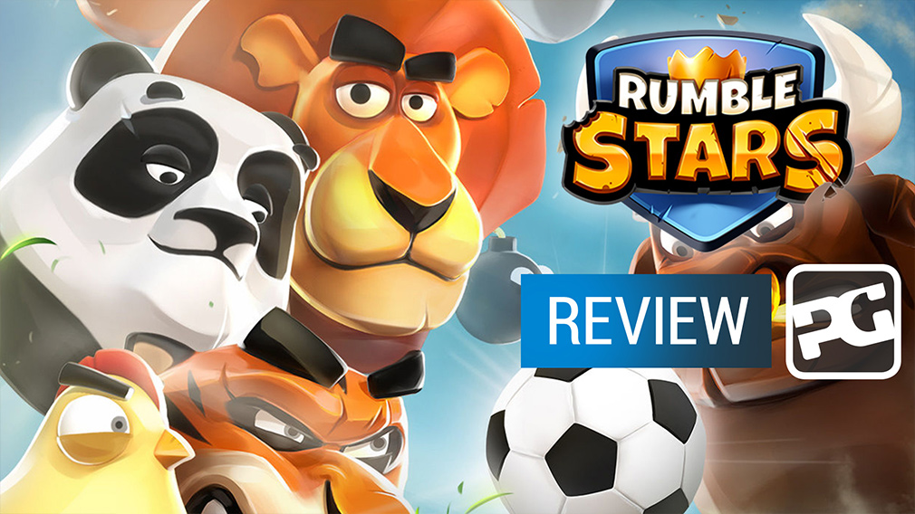 "Rumble Stars Soccer video review ""Frogmind tackles the beautiful game"""
