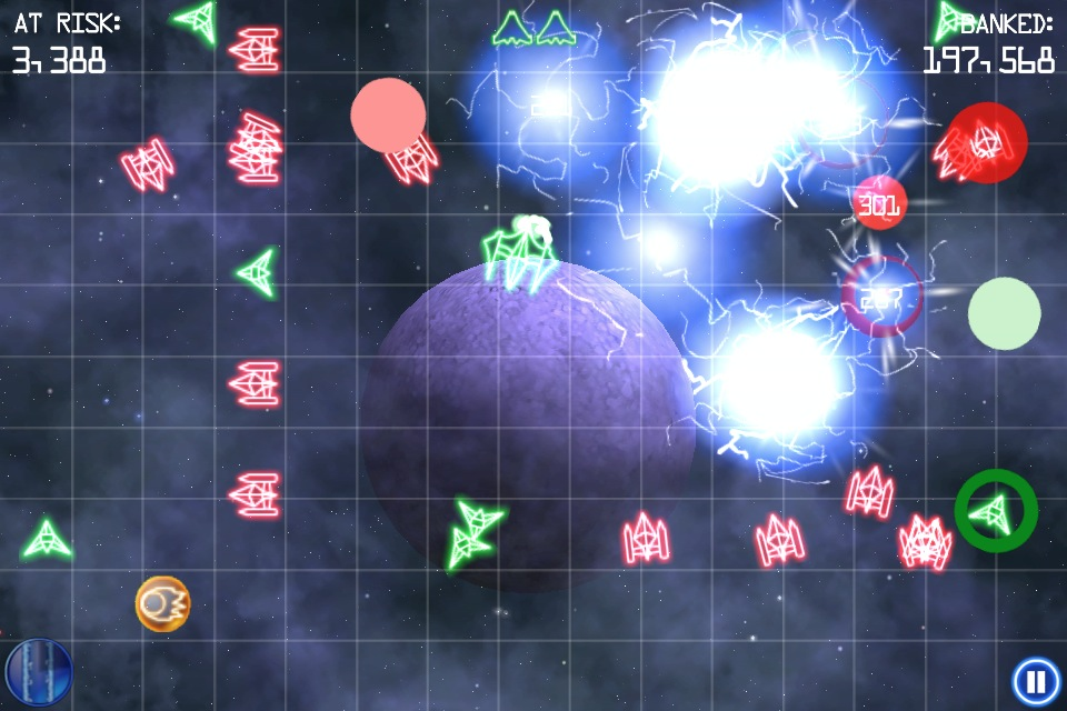 Frantic shoot-'em-up FlipShip from Ex-Insomniac Games dev flies onto iPhone at special launch price of 69p/99c