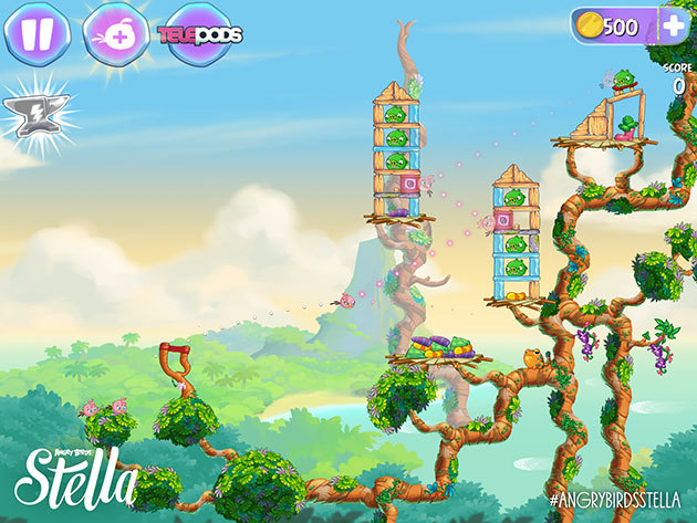 Angry Birds Stella will be released from its cage on September 4th