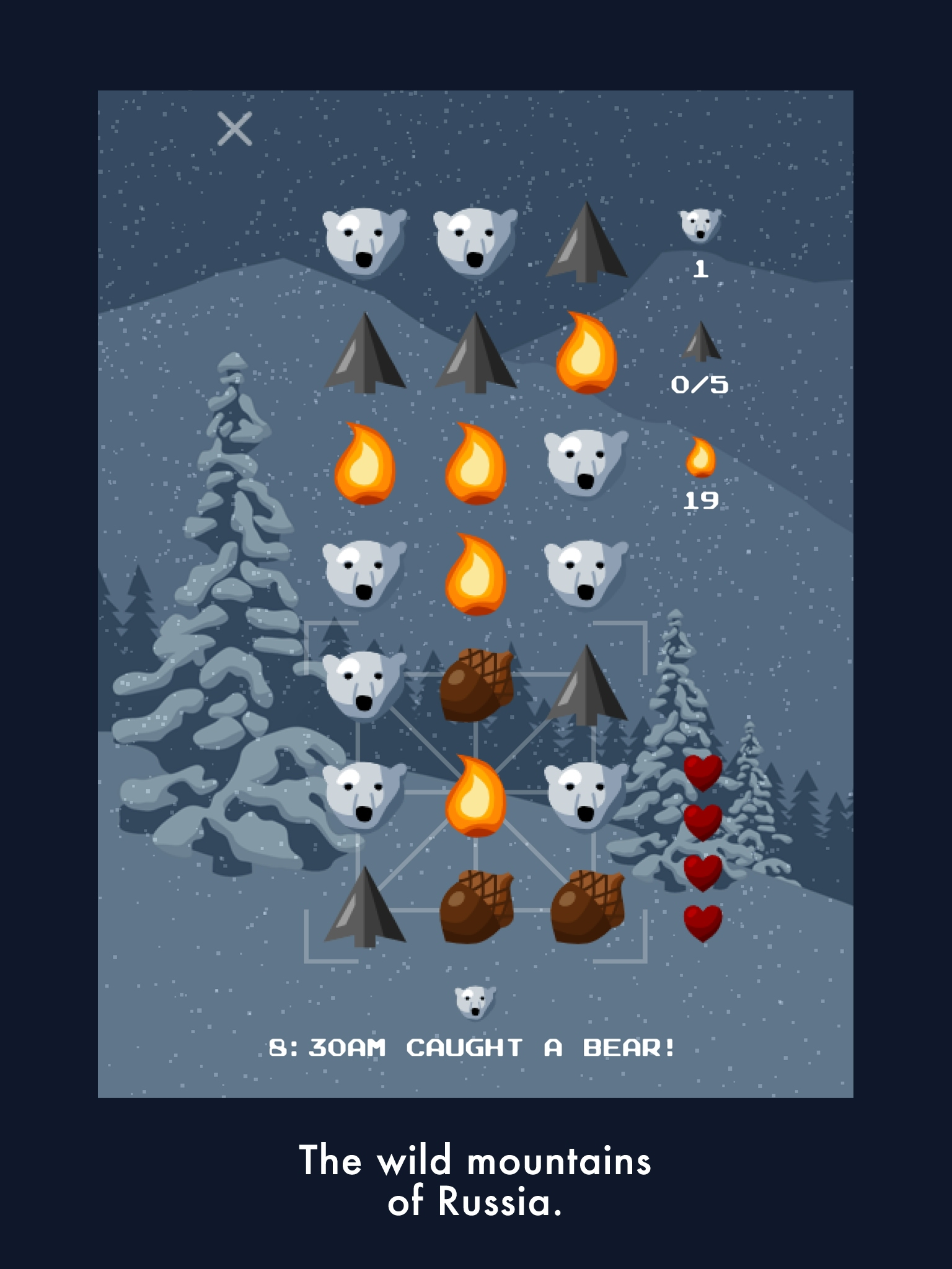 Bear Winter adds tough survival elements to match-3 puzzling, out on iOS and Android