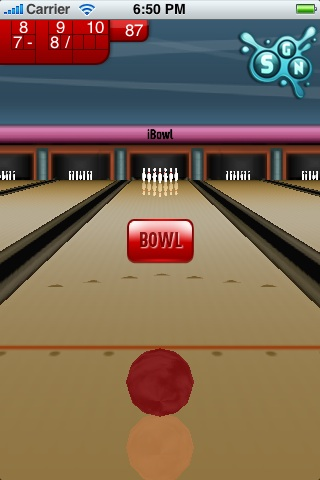 iBowl rolls onto the App Store