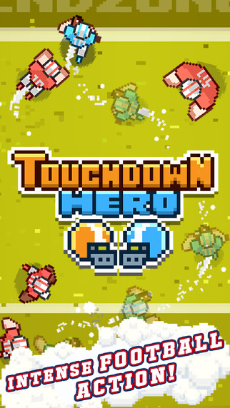 Get ready for the Superbowl with pixelated infinite runner Touchdown Hero