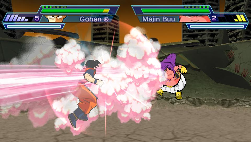 dragon ball shin budokai 2 psp game download