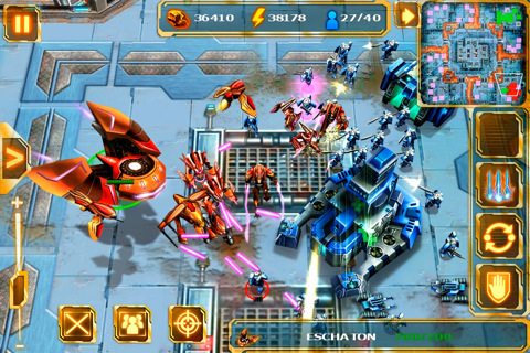 Gameloft RTS Starfront: Collision collides with New Zealand App Store