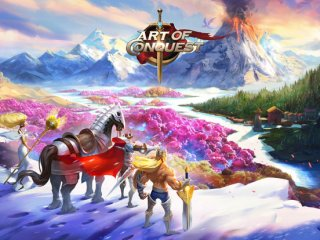 [Update] Recently launched MMORPG Art of Conquest is now featured on the app stores