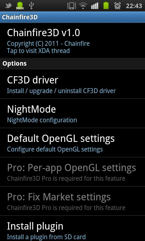 Play Tegra games on non-Tegra devices thanks to Chainfire 3D video driver