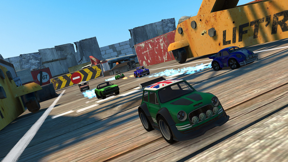"Table Top Racing: World Tour - Nitro Edition Switch review - ""Diddy car racing"""