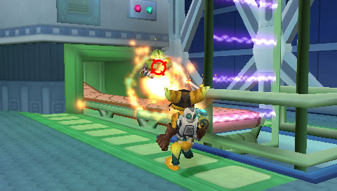 Hands on with PSP's Ratchet & Clank: Size Matters