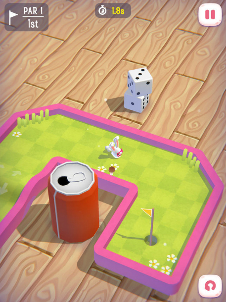 Magic Golf mixes bunnies and mini golf and it's coming to enchant us all