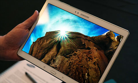 Samsung has announced two new premium Galaxy Tab S devices