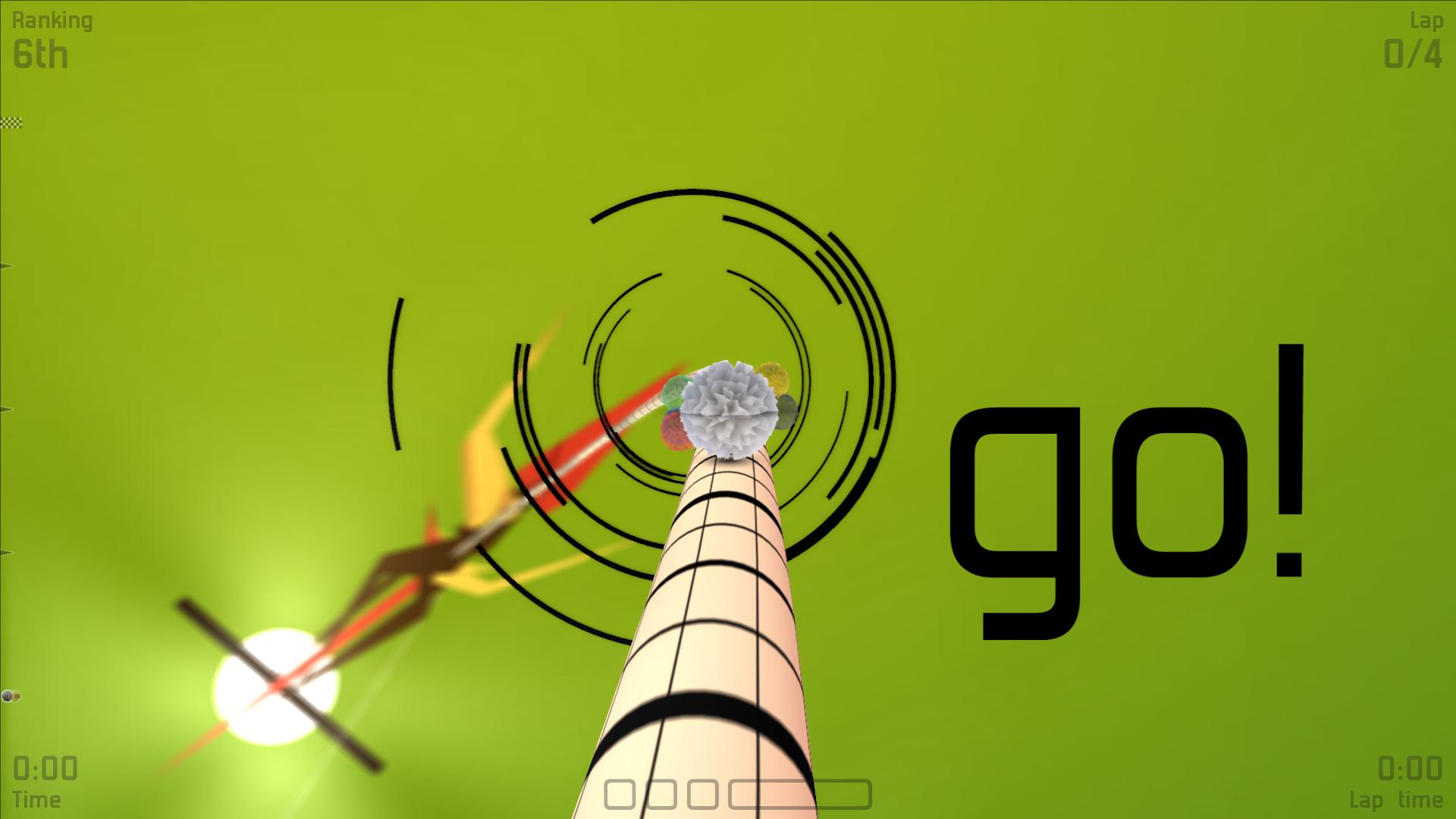 Award-winning wire racer Proun will be speeding onto 3DS, Android, and iOS in the future