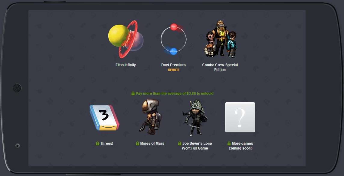 Humble Mobile Bundle 6 wraps up six Android games and soundtracks, with more on the way