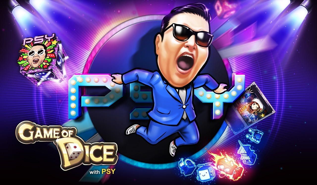 Check out PSY's moves in the latest Game of Dice update