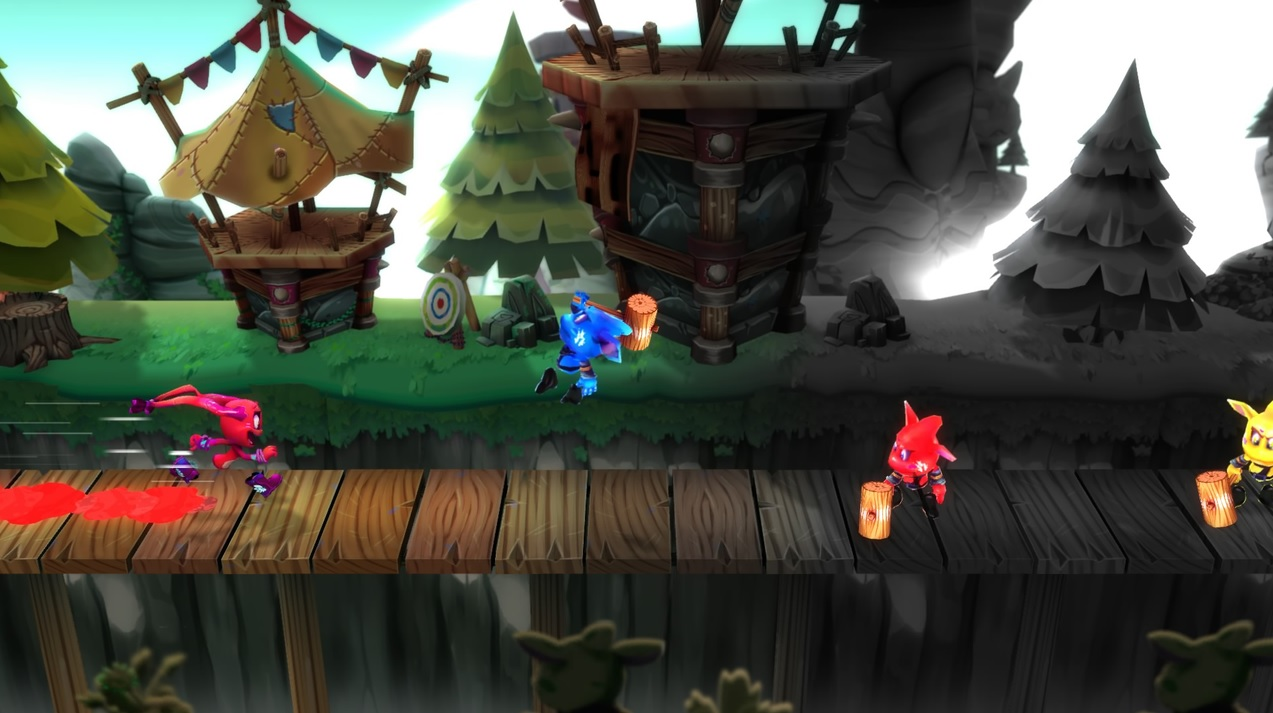 Color Guardians brings cartoonish auto-running action to PS Vita today
