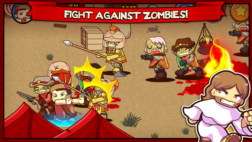 Out at midnight: Fist of Jesus has you delivering divine punishments to hordes of zombies