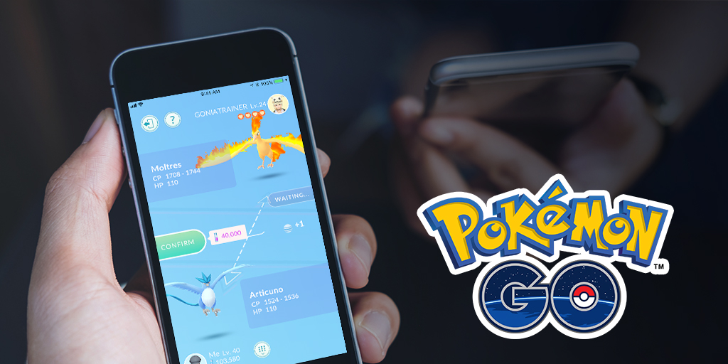 Trading is live in Pokemon GO but you're probably not a high enough level to access it yet