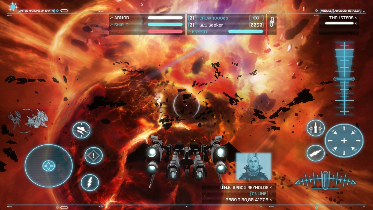 Strike Suit Zero brings its big space mecha action over from PC and consoles to Android