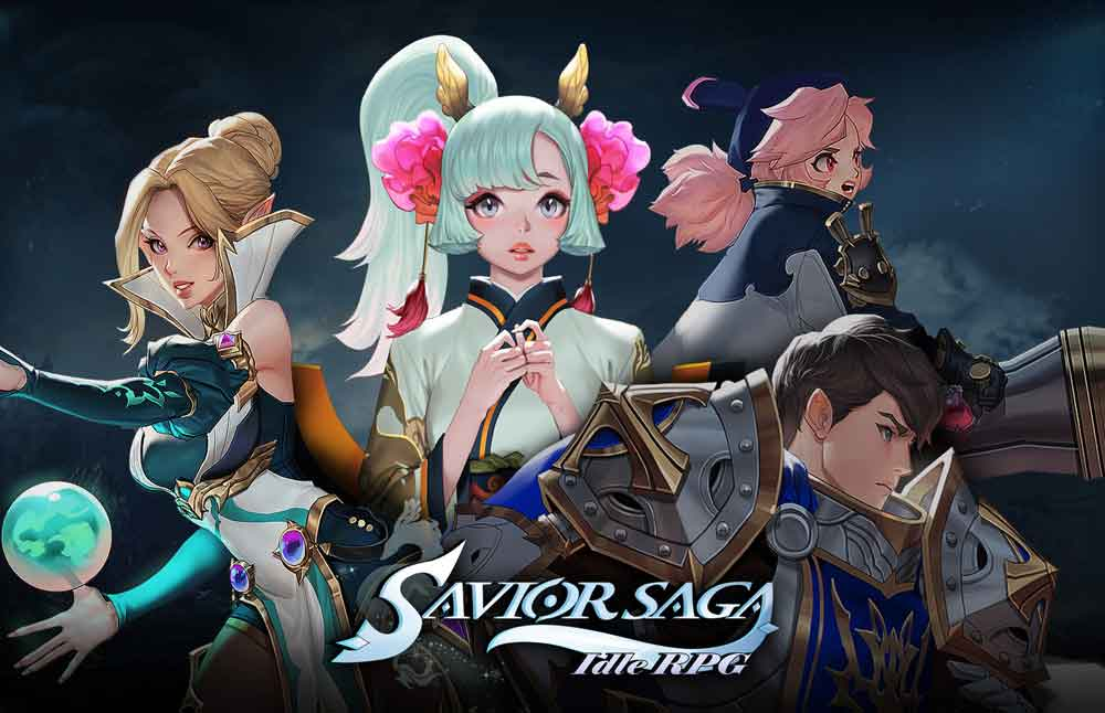 Savior Saga is now available on iOS and Android worldwide